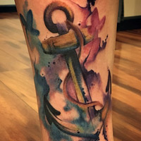 Anchor Tattoo - Amy Ausiello