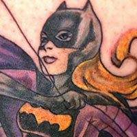 Bat Girl Tattoo - Amy Ausiello