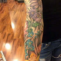 Full Sleeve Tattoo - Amy Ausiello
