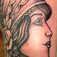 Traditional Gypsy Tattoo - Amy Ausiello